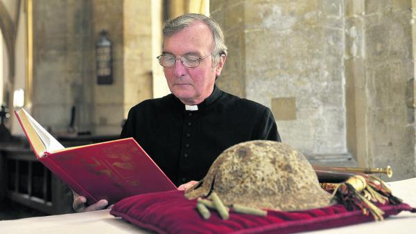 This Is Wiltshire: Rev Canon Robert Bailey will read poetry and scripture every hour 	         (SMB035-3) By Siobhan Boyle
