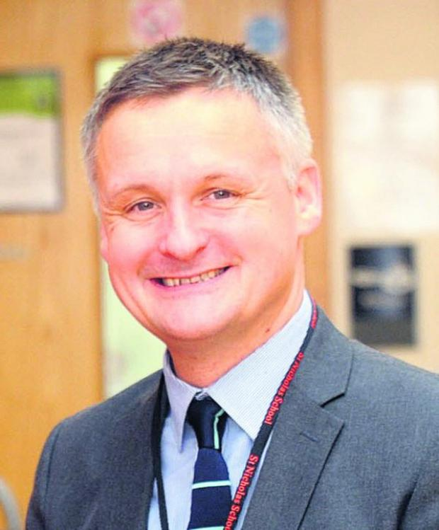 This Is Wiltshire: Bruce Douglas, headteacher of St Nicholas School, which caters for pupils from across Wiltshire