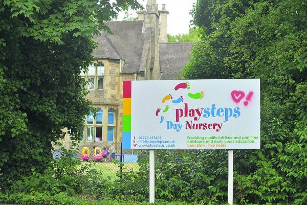This Is Wiltshire: On the right track – Playsteps Day Nursey