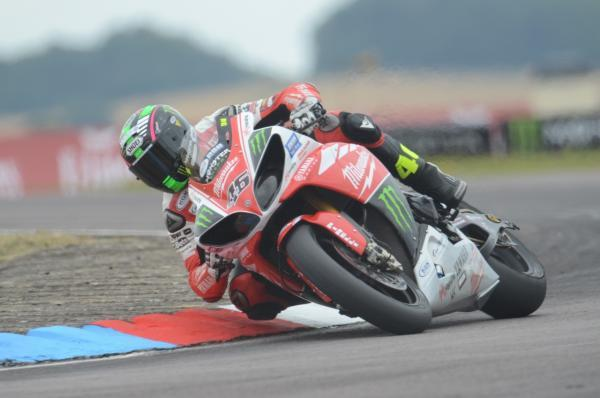 This Is Wiltshire: Tommy Bridewell, pictured in action at Thruxton yesterday (Picture by Paul Korkus)