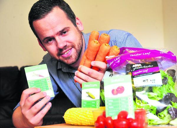 This Is Wiltshire: Mike Sharp is seeking funds to create a game he has invented called Veggie Trumps