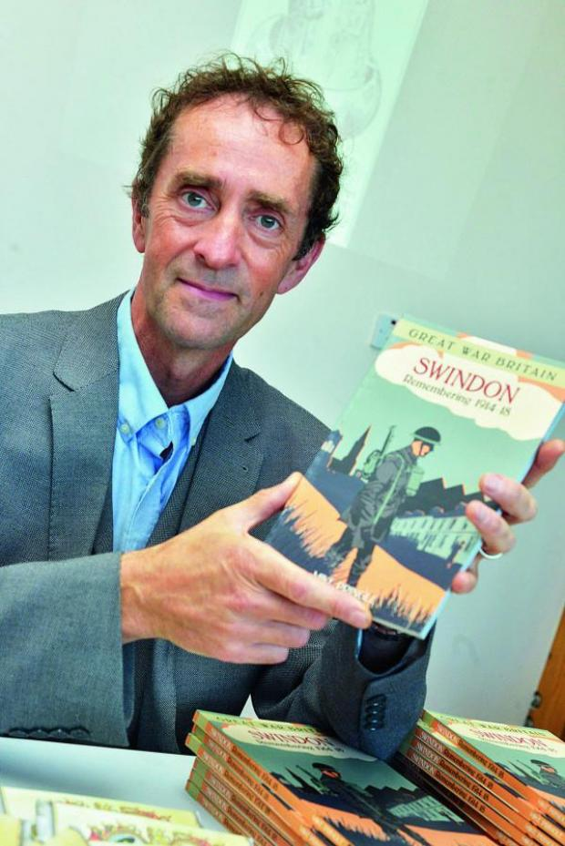 This Is Wiltshire: Dr Mike Pringle launches his book