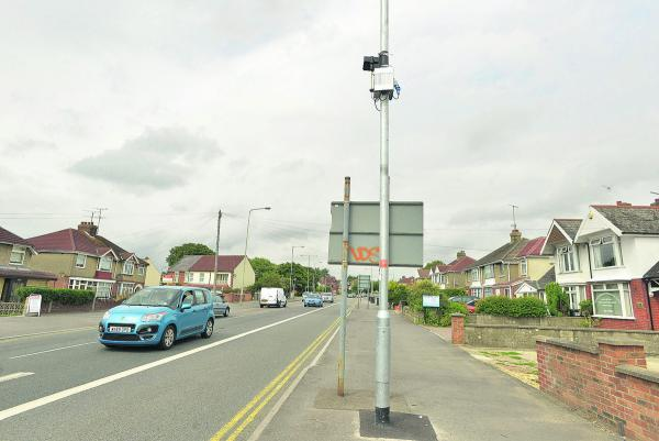 This Is Wiltshire: Bus lane cameras in operation in Penhill