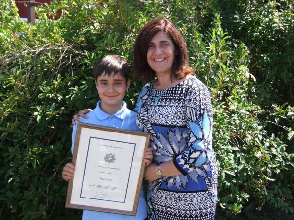 This Is Wiltshire: Schoolboy praised for bravery during fire at his Kingshill home