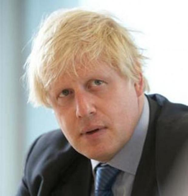 This Is Wiltshire: Boris Johnson visits Swindon