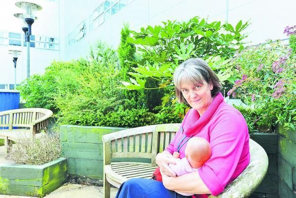 This Is Wiltshire: Cathy Gale, the head of breastfeeding at GWH