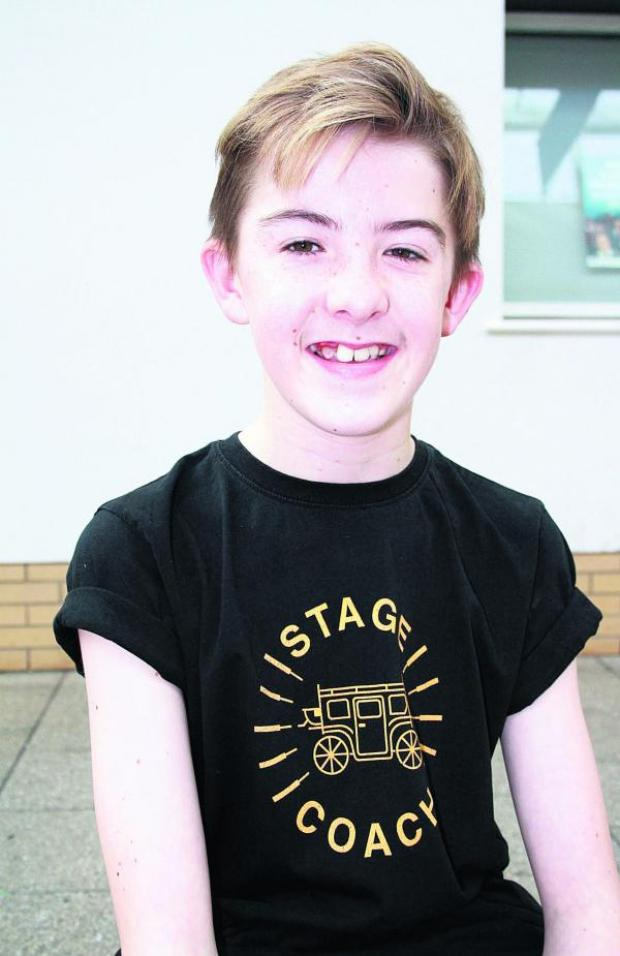 This Is Wiltshire: Charlie Lock, who has won a role in Seussical The Musical