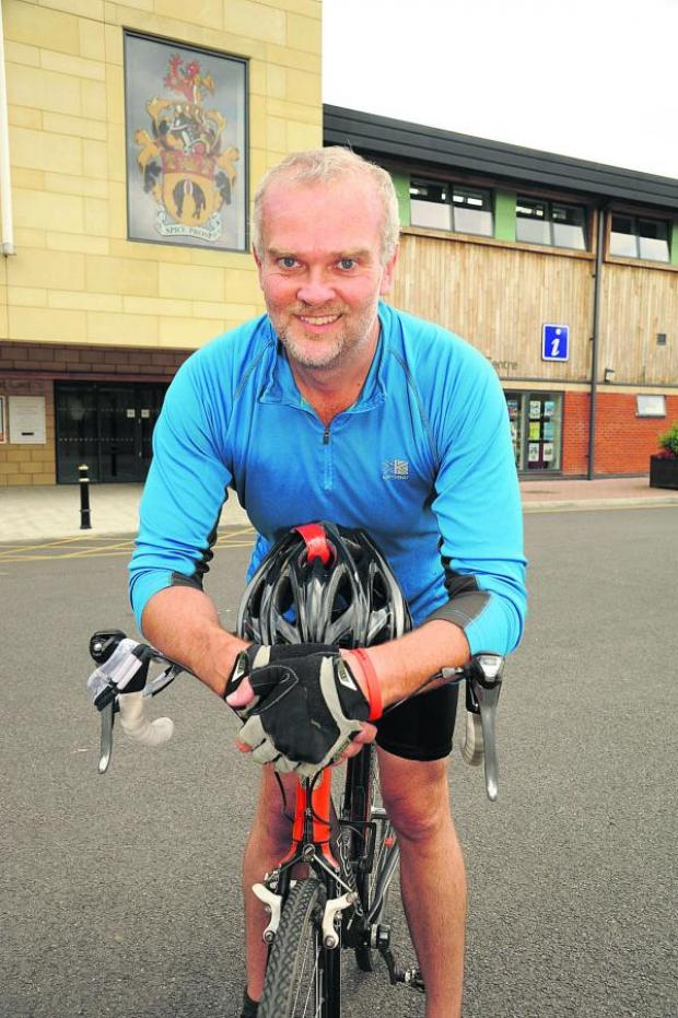 This Is Wiltshire: Lance Allan puts in some training for hi