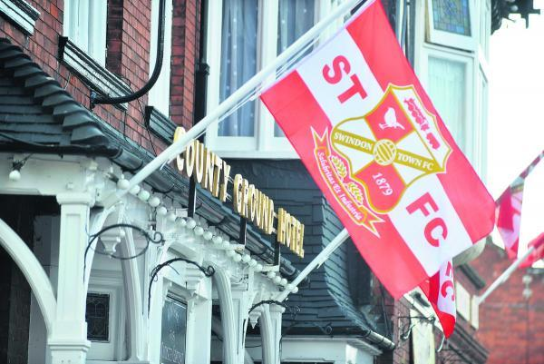This Is Wiltshire: The County Ground Hotel will be among the establishments flying the flag for Swindon Town in the forthcoming League One campaign