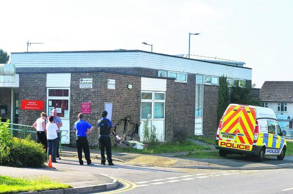 This Is Wiltshire: Car crashes into community hall