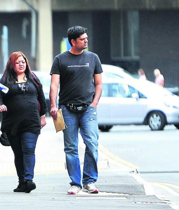 This Is Wiltshire: Sister and brother Rukhsana and Imran Dastagir, who are facing jail for  benefit fraud