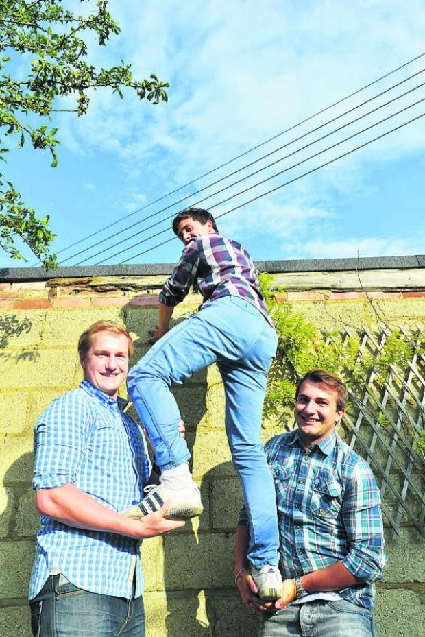 This Is Wiltshire: Dan Cook, Dan Vaughan and Matt Cook
