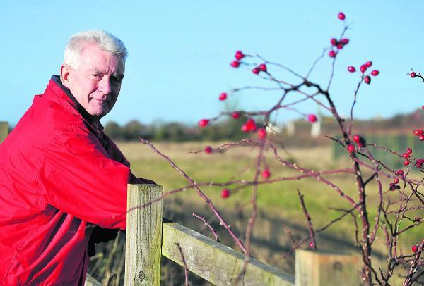This Is Wiltshire: Ian Jankinson, the chairman of Blunsdon St Andrew Parish Council