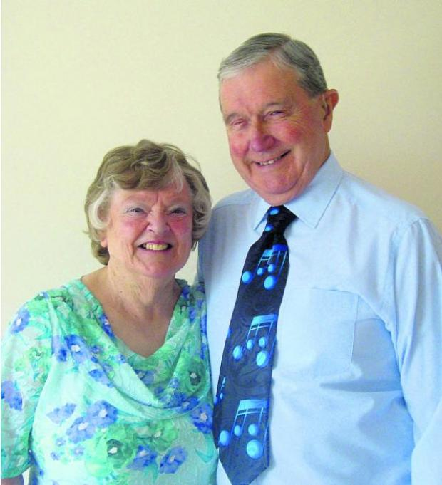 This Is Wiltshire: John and Janet Davies are marking 50 fantastic years since their wedding