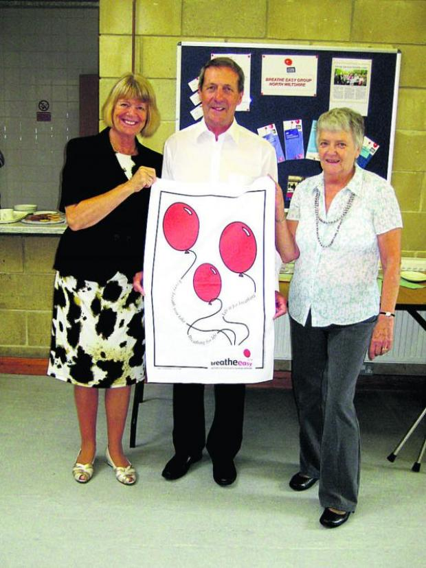 This Is Wiltshire: Former Devizes mayoress and mayor Susan and Peter Evans, left,  re