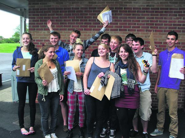 This Is Wiltshire: Malmesbury School students full of cheer on receiving their results