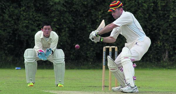 This Is Wiltshire: White Horse batsman Jon Candy on his way to an  innings of 68 in his side's win over Trowbridge A in Division Five on Saturday