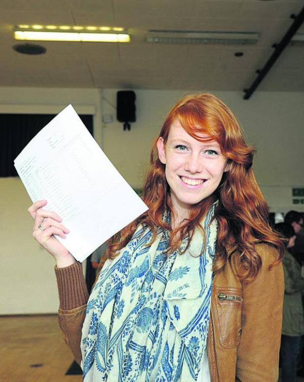 This Is Wiltshire: John of Gaunt A-level student Sara Boiten. Picture by Tre