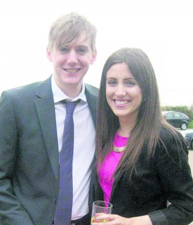 This Is Wiltshire: Emma Dunn and boyfriend Scott D'Arcy