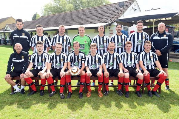 This Is Wiltshire: Malmesbury Vics' players line up ahead of the new season