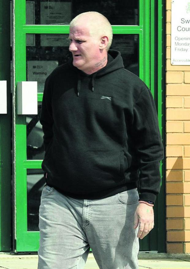 This Is Wiltshire: Michael Thomas, who stole goods from his 11-year-old son and sold them at a Cash Generator store
