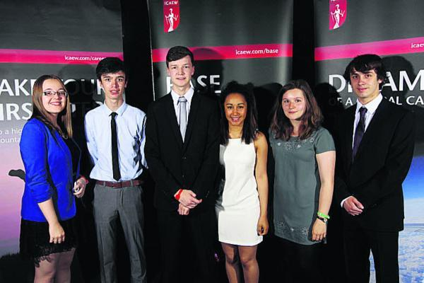 This Is Wiltshire: Pupils from St Augustine's College who competed in the BASE competition, from