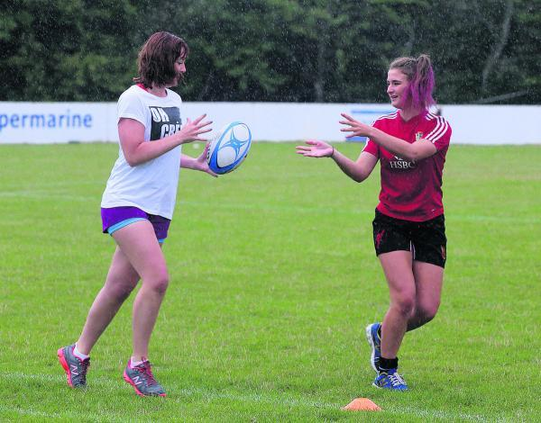 This Is Wiltshire: A rugby event for girls at Swindon Supermarine was held to celebrate the Women's World Cup Final on Sunday