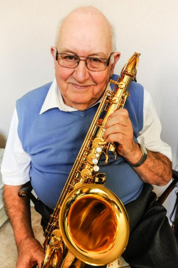 This Is Wiltshire: David Knight, Swindon's Mr Jazz, who is the recipient of tonight's benefit concert