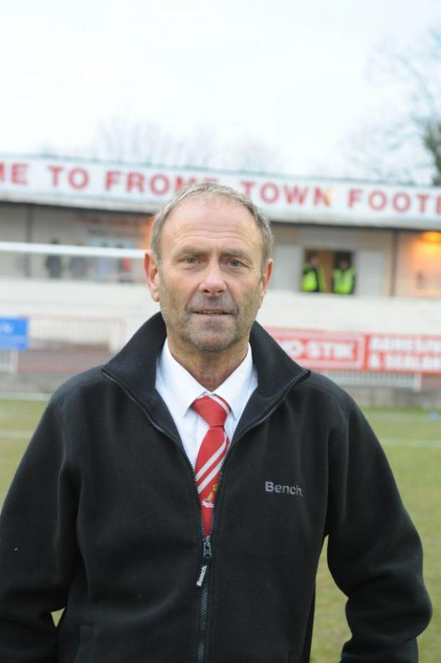 This Is Wiltshire: Warminster Town joint-manager Derek Graham