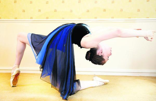 This Is Wiltshire: Hannah Sumner, who is to join the Northern Ballet School