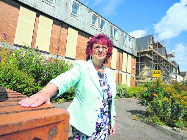 This Is Wiltshire: Margaret Byrne, the owner of Gables Guest house in Old Town  near Townsend House, which is going to be turned into flats