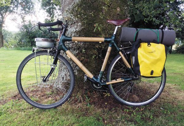 This Is Wiltshire: Bromham adventurer rides bamboo bike to Burma