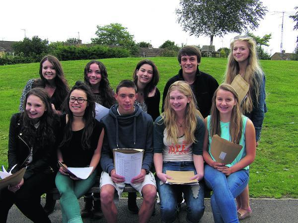 This Is Wiltshire: Malmesbury School students had good reason to celebrate