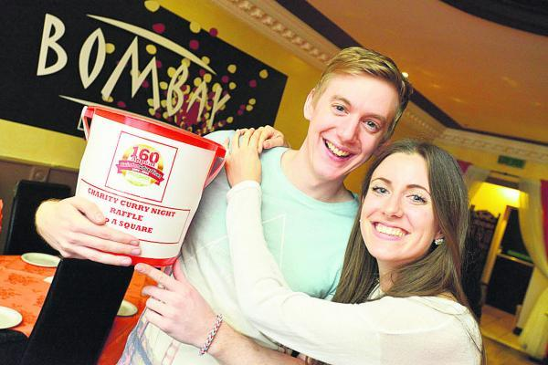 This Is Wiltshire: Keep korma and carry on – Emma Dunn and Scot D'Arcy at their specially organised curry night