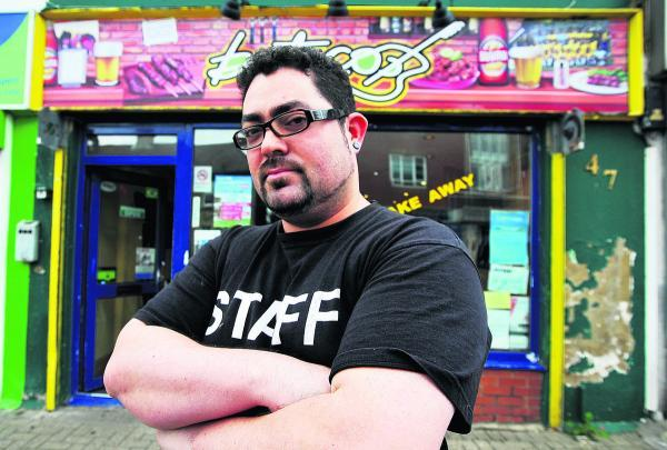 This Is Wiltshire: Paulo Rodrigus, the owner of Buteco Restaurant in Gorse Hill