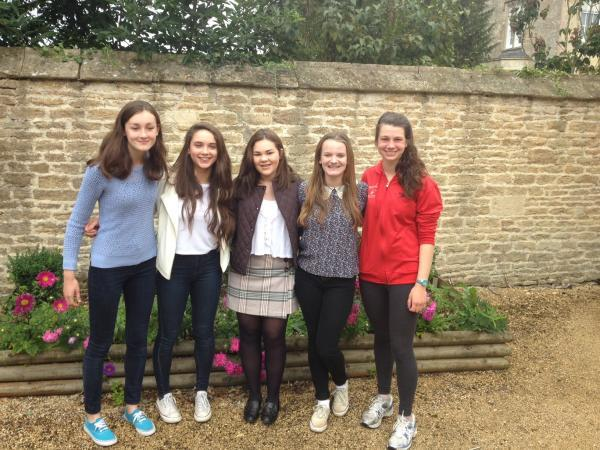 This Is Wiltshire: Successful pupils of Stonar School