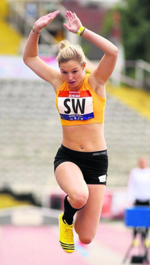 This Is Wiltshire: Abbie Chaundy shone at the South West Inter Counties Champs