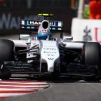 This Is Wiltshire: Williams Valtteri Bottas was quickest in the final practice