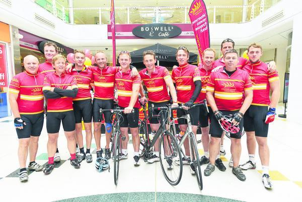 This Is Wiltshire: Cancer cash rolls in as cyclists roll out