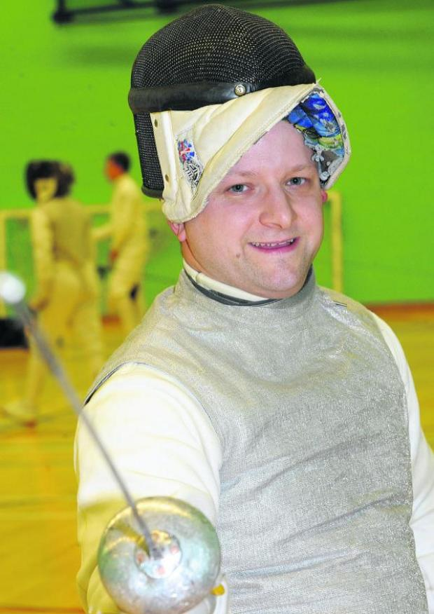 This Is Wiltshire: Neil Bromley, of Swindon Fencing Club