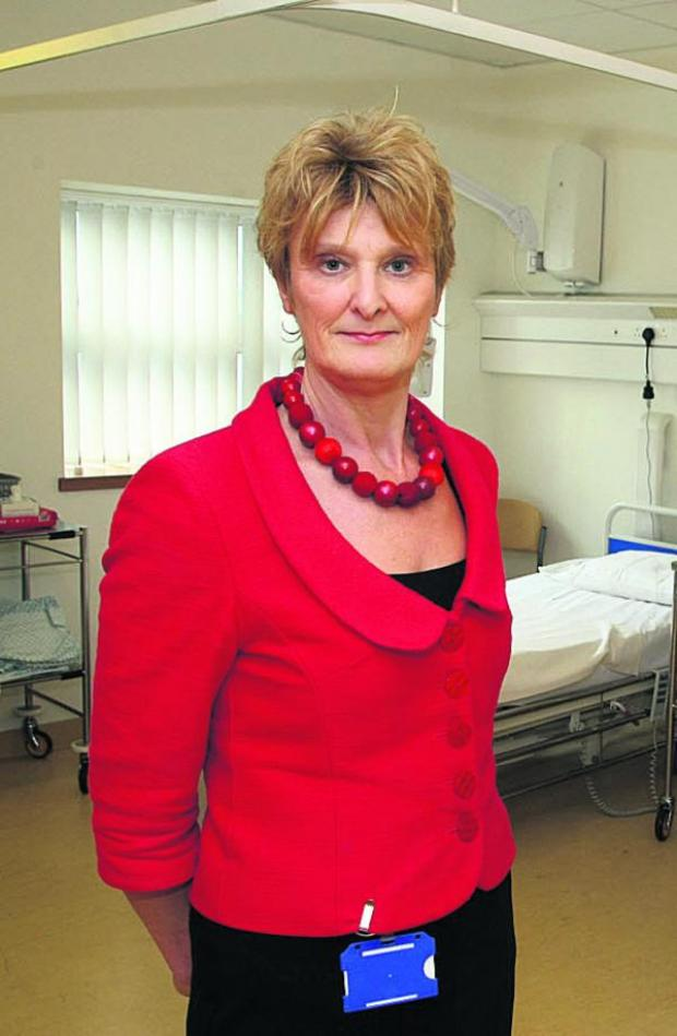 This Is Wiltshire: Great Western Hospitals NHS Foundation Trust Chief Nurse Hilary Walker