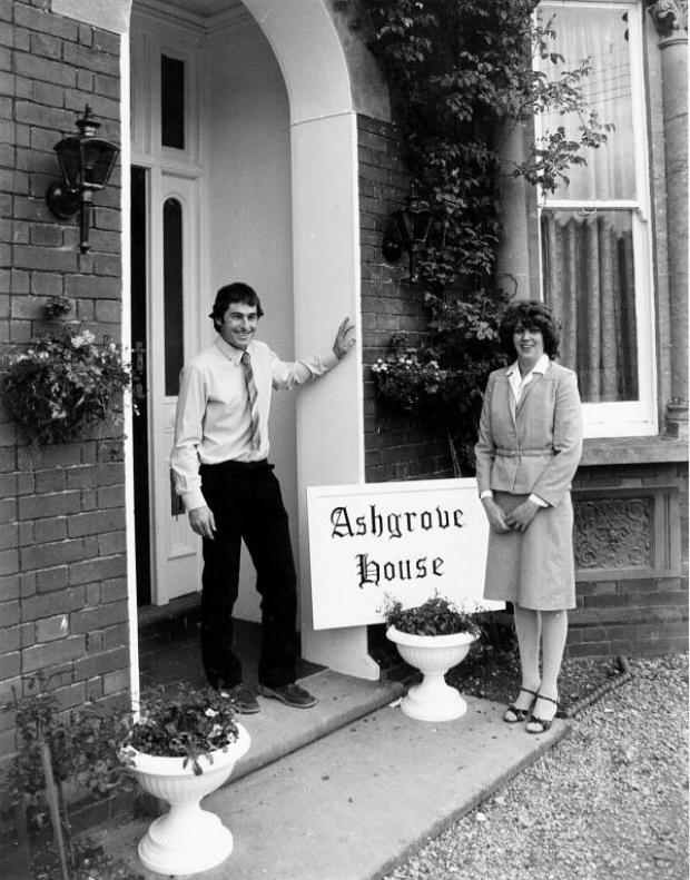 This Is Wiltshire: The photo from the Swindon Advertiser taken at the opening of the home 30 years ago
