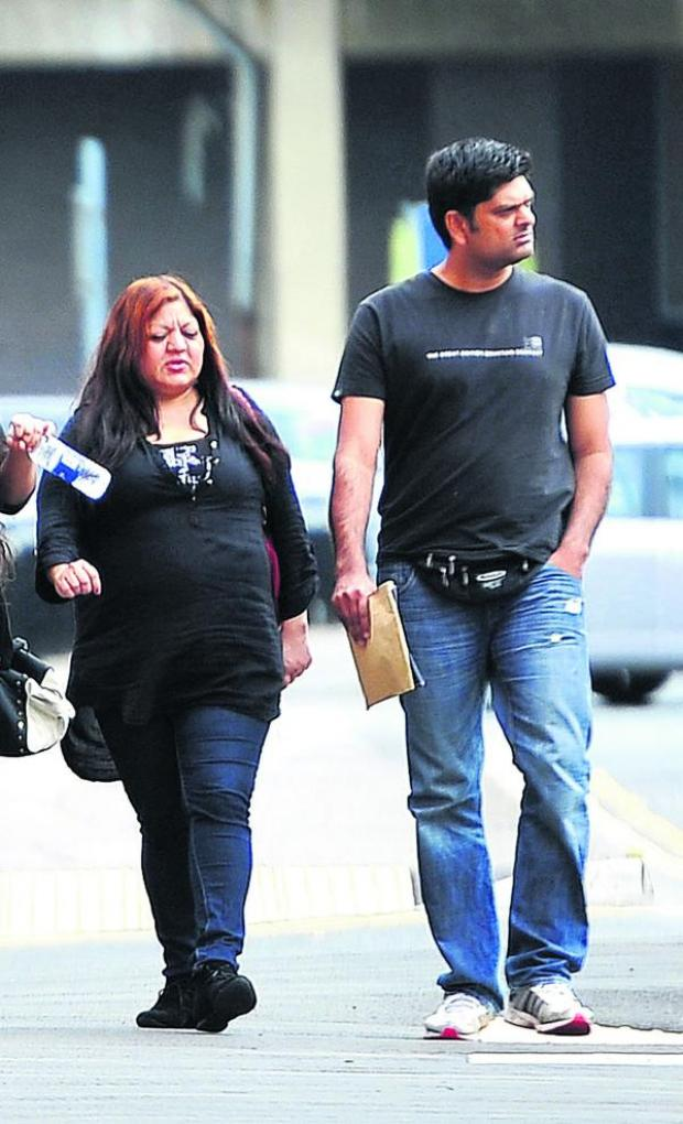 This Is Wiltshire: Sister and brother Rukhsana Dastagir and Imran Dastagir, who have been sentenced for benefit fraud