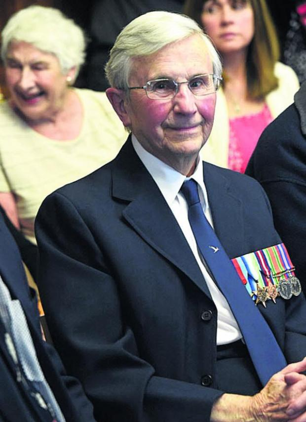 This Is Wiltshire: Mike Jackson, 89, from Marlborough, served as a watch keeper in two destroyers