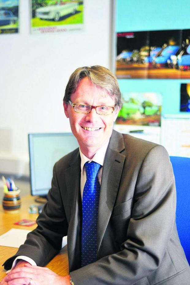 This Is Wiltshire: Gordon Frost is the new boss of Thamesdown Transport