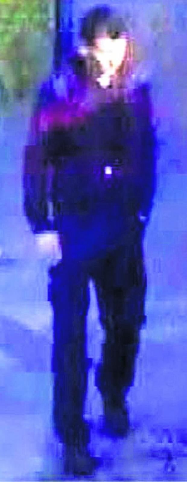 This Is Wiltshire: British Transport Police have released these CCTV images of a man they want to identify and speak to