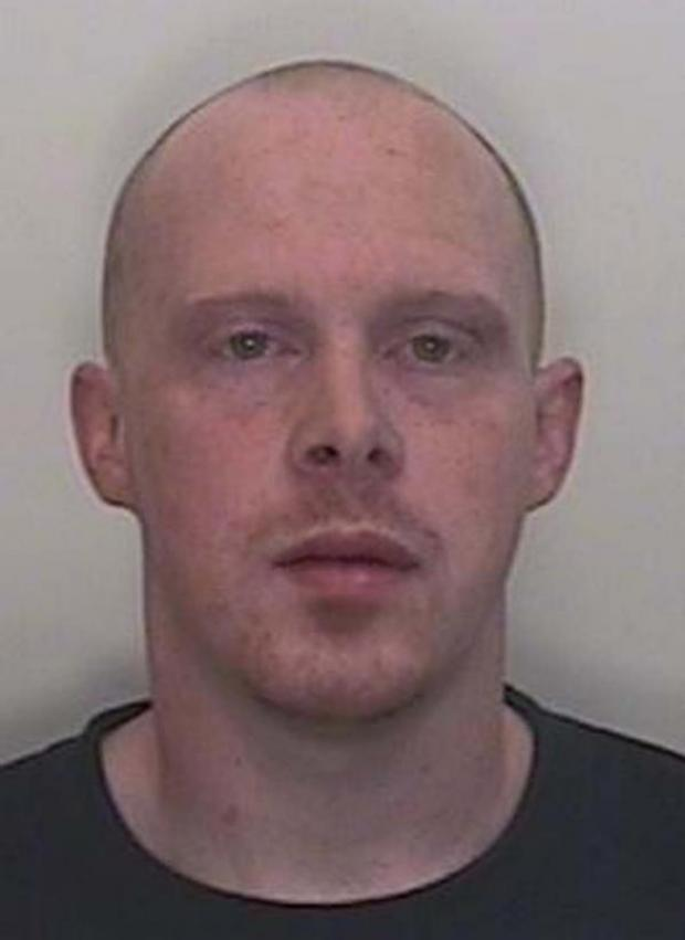 This Is Wiltshire: Daniel Evetts has been jailed for smashing glass into a man outside the Royal Oak, Pewsey