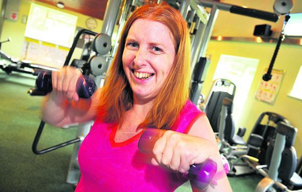 This Is Wiltshire: Sam James, a personal trainer and zumba teacher with cerebral palsy, has been nominated for two awards