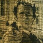 This Is Wiltshire: Artist creates £10,000 Clint Eastwood mosaic made of bullet cartridges to celebrate the actor's 85th birthday
