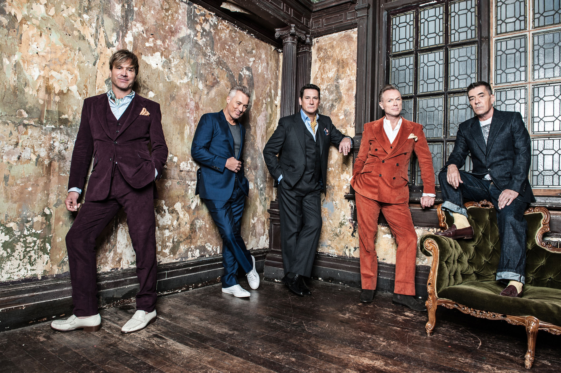 Spandau Ballet Press Shots. (28501215)